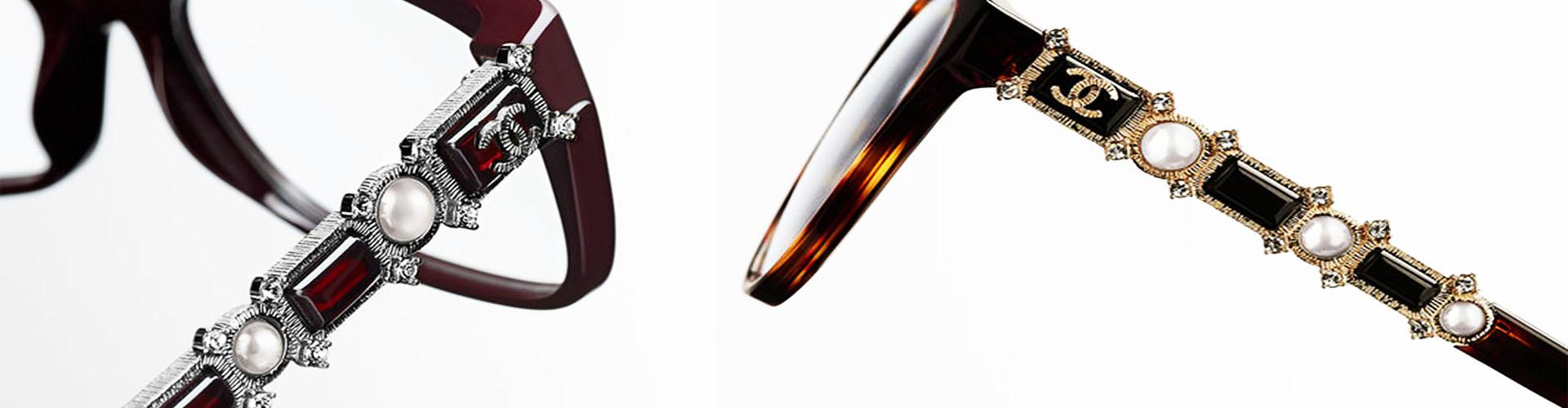 febf4dd2e4d9b Il y a toujours des produits d exceptions dans la collection Chanel. Les  Lunettes Chanel Bijou représente la maison dans son écrin haute couture.
