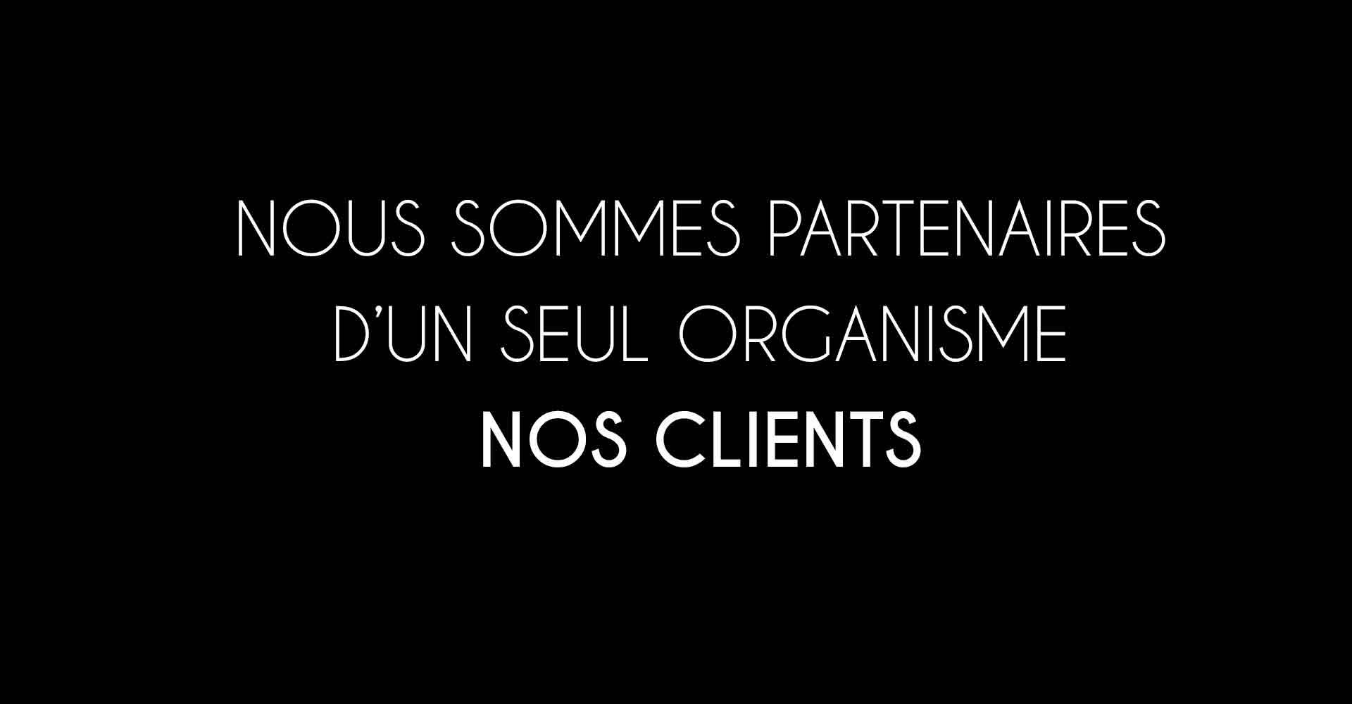 Mutuelles nous sommes partenaires de nos clients