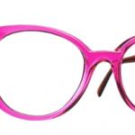 Lunettes optique Caroline abram design paris femme feminine oversize ronde rose bettina