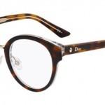 lunettes optique dior Montaigne 7 balducelli opticiens montbéliard ronde combinée plastique metal écaille femme