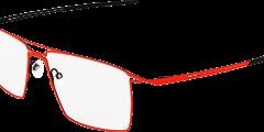 lunettes parasite eyewear homme fine metal noir orange fluo pilote carré moderne futuriste légère balducelli opticiens montbeliard byte 9