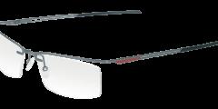lunettes parasite eyewear homme fine metal argent orange nylor futuriste légère balducelli opticiens montbeliard byte 6