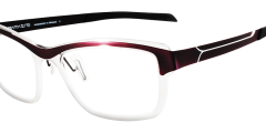 lunettes parasite femme légère fine mauve transparent balducelli opticiens montbeliard futura