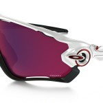 lunettes de soleil oakley homme modele jawbreaker blanc noir red iridium vélo cycliste custom o matter unobtainium