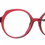 Lunettes optique Caroline abram design paris femme feminine oversize rone haute rouge fine Nina