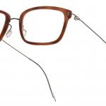 lunettes minima légère discrete percée hybride homme
