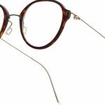 lunettes minima légère discrete percée hybride ronde