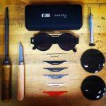 lunettes de soleil mr lenoir par balducelli impression 3d fait main lime étui verres plats anti reflets montbéliard djibril cissé