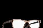 Lunettes chanel femme eyewear balducelli opticiens montbeliard 3325 rectangle marron glacé transparent matelassé