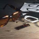 lunettes sur mesure écaille dessinée puis imprimée en 3D prototype unique personnalisé