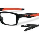 lunettes optique oakley homme balducelli opticiens montbéliard branches droites interchangeables ferrari noir rouge sport voiture