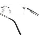 lunettes minima légère discrete percée homme
